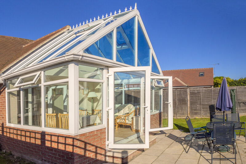Glass Conservatory in Gloucester Gloucestershire